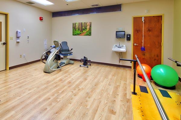 skilled care facility